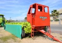 Транспортная платформа для перевозги негабаритных грузов..  Израиль, Рамла, музей грузового транспорта