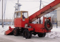 Снегопогрузчик КО-206А #1745 ТН 72. Тюмень, Безымянная улица
