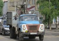 Самосвал с КМУ ГАЗ-САЗ-52Б на шасси ГАЗ-52-01 #Е 449 ВВ 45.  Курган, улица Ленина