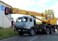 КС-55713-1 Галичанин на шасси КамАЗ-55111 #Х 999 КС 60. Псков, Инженерная улица