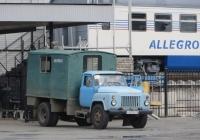 Аварийно-ремонтная мастерская на шасси ГАЗ-53-12 #У 300 РК 74 . Курган, Станционная улица