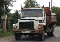 Самосвал ГАЗ-САЗ-35071  #Н 500 ЕВ 60. Псков, улица Черняховского