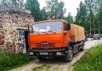 Каналопромывочная машина КО-514 на шасси КамАЗ-43253 #Н 485 МУ 29. Архангельская обасть, Мирный