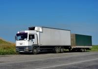 Фургон-рефрижератор MAN TGA 26.410 с холодильником Kühlkoffer Carrier #АЕ 6319 ІК. Херсонская область, автотрасса Р-47