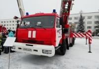 Автолестница пожарная АЛ-50 на шасси КамАЗ-65115. Архангельская область, Мирный