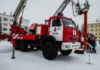 Автоподъемник коленчатый пожарный АКП-32 на шасси КамАЗ 43118. Архангельская область, Мирный