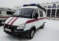 Спасательный автомобиль на базе ГАЗ-2705. Архангельская область, Мирный
