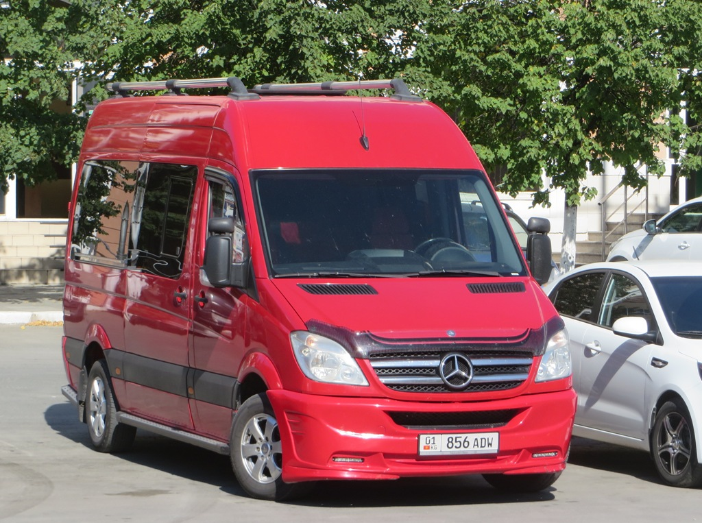 Микроавтобус Mercedes-Benz Sprinter #856 ADW. Курган, улица Гоголя