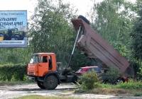 Самосвал КамАЗ-55111 #375-70 ХА. Харьковская область, г. Харьков, Салтовское шоссе
