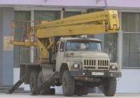 Автоподъёмник ВС-22-04 на шасси ЗиЛ-131 #В 069 ВК 45. Курган, улица Карла Маркса