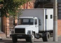 Фургон на шасси ГАЗ-3309 #7334 АВ 76.  Курган, улица Куйбышева
