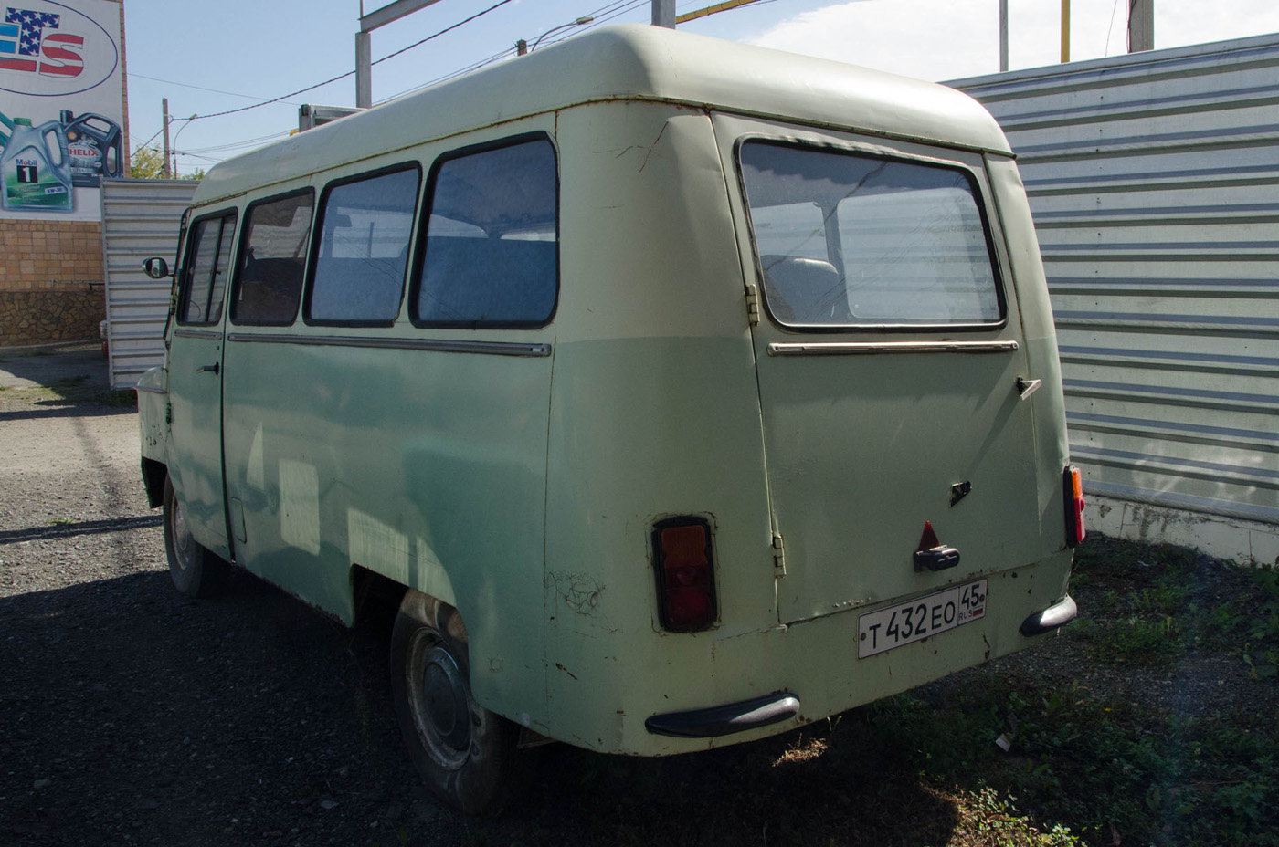 Микроавтобус Nysa 522M #Т 432 ЕО 45. Екатеринбург, Авиационная улица
