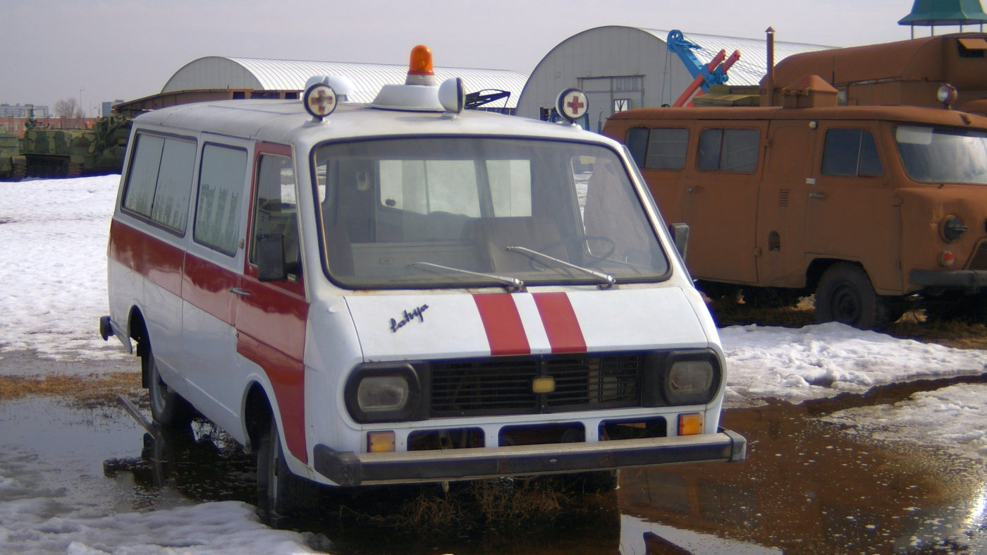 АСМП РАФ-22031-01. г. Тольятти, технический музей им. К. Г. Сахарова