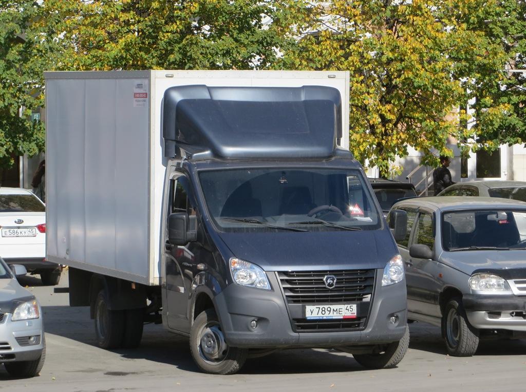Фургон Луидор-3009Z5 #У 789 МЕ 45.  Курган, улица Гоголя