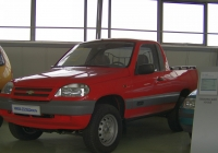 опытно-экспериментальный автомобиль-пикап ВАЗ-23235. г. Тольятти, технический музей им. К. Г. Сахарова