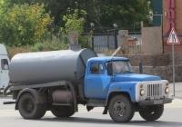Ассенизационная машина, переоборудованная из самосвала ФАЗ-3508 на шасси ГАЗ-53-14 #Н 723 ВМ 45.  Курган, улица Ленина
