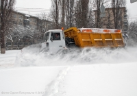 КДМ ЭД-244А1 на шасси МАЗ-5516А5-371. Украина, Киев, ул. Стеценко.