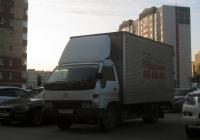 Фургон Toyota Dyna №А 871 ММ 72. Тюмень, Янтарная улица