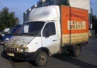 Фургон 270710 на шасси ГАЗ-3302 №В 239 ОК 72. Тюмень, Олимпийская улица