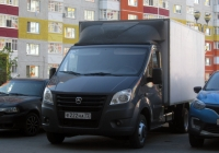 """Фургон на шасси ГАЗ-A23R32 """"Газель Next"""" №Е 222 НА 72. Тюмень, Кремлевская улица"""