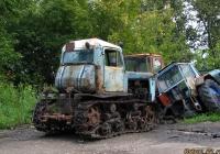 "Трактор ДТ-75М ""Казахстан"". Алтайский край, Барнаул, промзона"