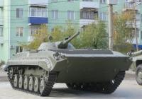Боевая машина пехоты БМП-1П.  Курган, Пролетарская улица
