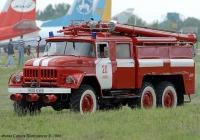 Аэродромный пожарный автомобиль АА-40(131)-139 на шасси ЗиЛ-131Н #98 05 КХМ. Украина, Киевская область, Гостомель, аэропорт Антонов