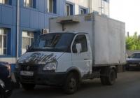 """Фургон 2790 на шасси ГАЗ-3302 """"Газель"""" #У 186 СС 72. Тюмень, Московский тракт"""