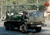 Буровая установка УРБ-2,5А на шасси КамАЗ-4310. №29 22 КИП.. Киев, ул. О. Телиги