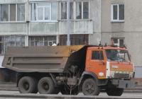 Самосвал КамАЗ-5511 #У 653 ЕР 45. Курган, улица Бурова-Петрова