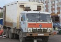 Фургон на шасси КамАЗ-5320 #С 457 АА 45. Курган, улица Климова