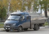 "Бортовой грузовик 2834ВF на шасси ГАЗ-33023 ""Газель"" #А 100 КХ 45. Курган, улица Карла Маркса"