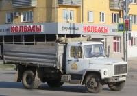 Самосвал ГАЗ-САЗ-35071 на шасси ГАЗ-3309 #У 645 ЕЕ 45.  Курган, Пролетарская улица
