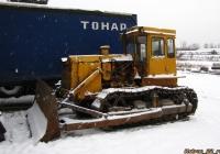 Бульдозер ДЗ-110 на базе трактора Т-130М(?). Алтайский край, Барнаул, шоссе Ленточный бор