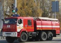Пожарная автоцистерна АЦ-8,0-70(43118) на шасси КамАЗ-43118 #М 009 КО 45. Курган, улица Ленина