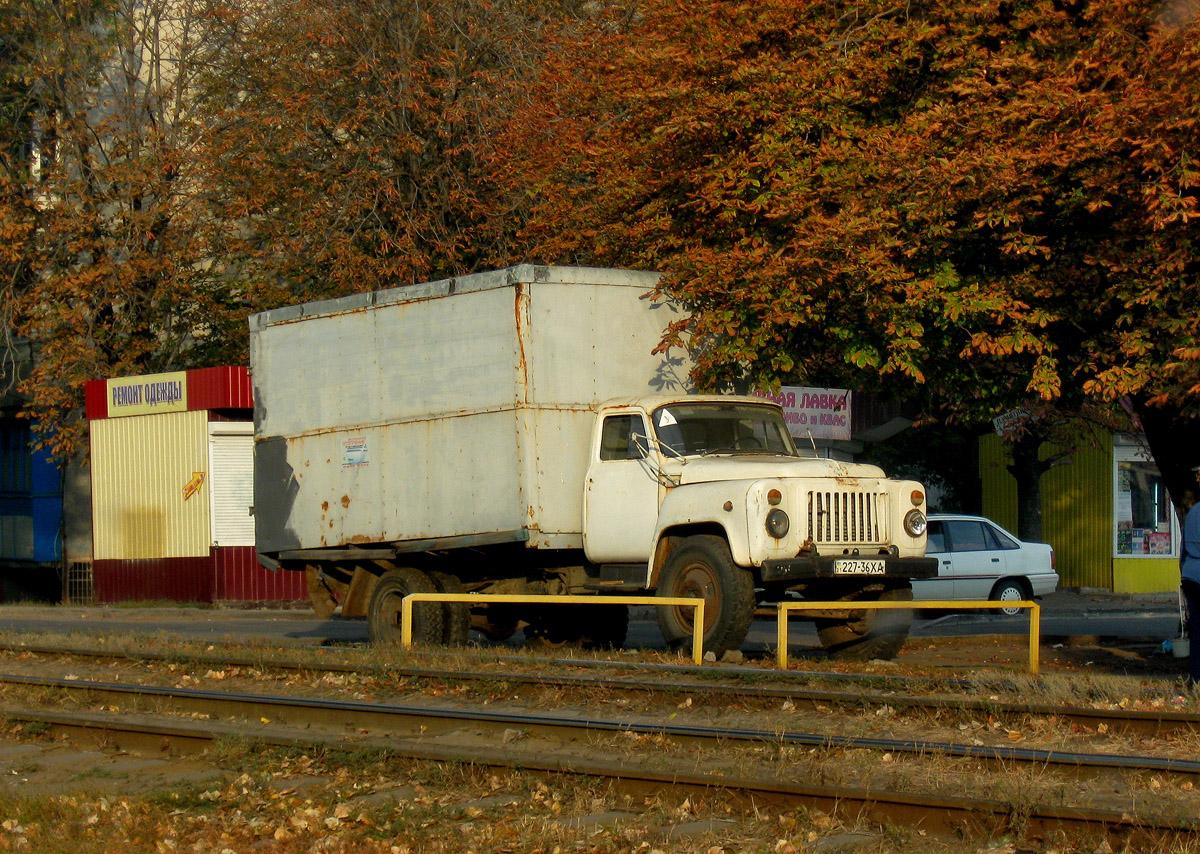 Фургон ГЗСА-3702 на шасси ГАЗ-52-01 #227-36 ХА. Харьковская область, г. Харьков, Салтовское шоссе