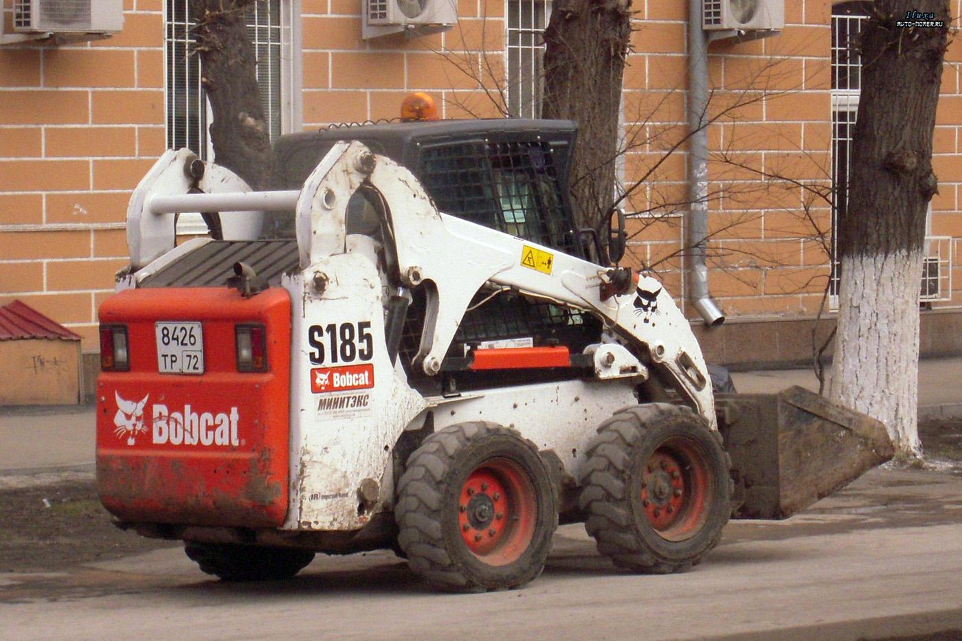 Фронтальный погрузчик Bobcat S185 #8426 ТР 72 . Тюмень