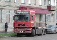 Седельный тягач Volvo F12 #Р 177 ВН 45.  Курган, улица Савельева