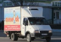 "Фургон ГАЗ-3302 ""Газель"" #А 462 КС 45.  Курган, улица Куйбышева"