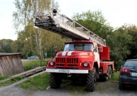 Автолестница АЛ-30(131) на шасси ЗИЛ-131 #Е 174 МУ 10. Карелия, Медвежьегорск