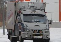 """Грузовое такси ГАЗ-330232 """"Газель"""" #У 330 ЕВ 45. Курган, улица Савельева"""
