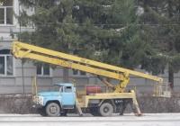 Автоподъёмник АГП-22 на шасси ЗиЛ-431412 #Т 928 КК 45 . Курган, площадь имени В.И. Ленина