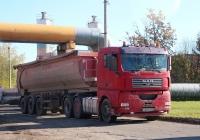 Седельный тягач MAN TGA #Н 839 КВ 60. Псков, Инженерная улица