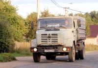Самосвал ГАЗ-САЗ-3507-01 на шасси ЗИЛ-433362 #Х 754 ЕУ 60. Псков, улица Черняховского