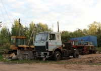 МАЗ-5432*. Псков, Боровая улица