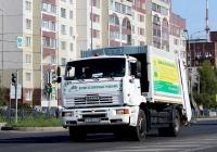 Мусоровоз МСТ-6963-50 на шасси КамАЗ-53605 #У 438 КЕ 60. Псков, Рижский проспект