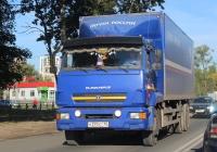 Фургон АФ-47415Н на шасси КамАЗ-65117 #Н 370 КТ 60. Псков, улица Леона Поземского