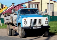 Самосвал ГАЗ-САЗ-3507 на шасси ГАЗ-53-14 #У 658 КУ 60. Псков, улица Ижорского Батальона