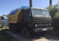 Самосвал КамАЗ-5511, приспособленный для доставки воды, #АР3598СО. Запорожская область, пгт. Кирилловка, улица Федотова коса