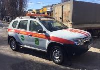 Аварийный автомобиль горлифта на базе Renault Duster, #АХ2665НВ. Харьковская область, г. Харьков, улица Блюхера, 17